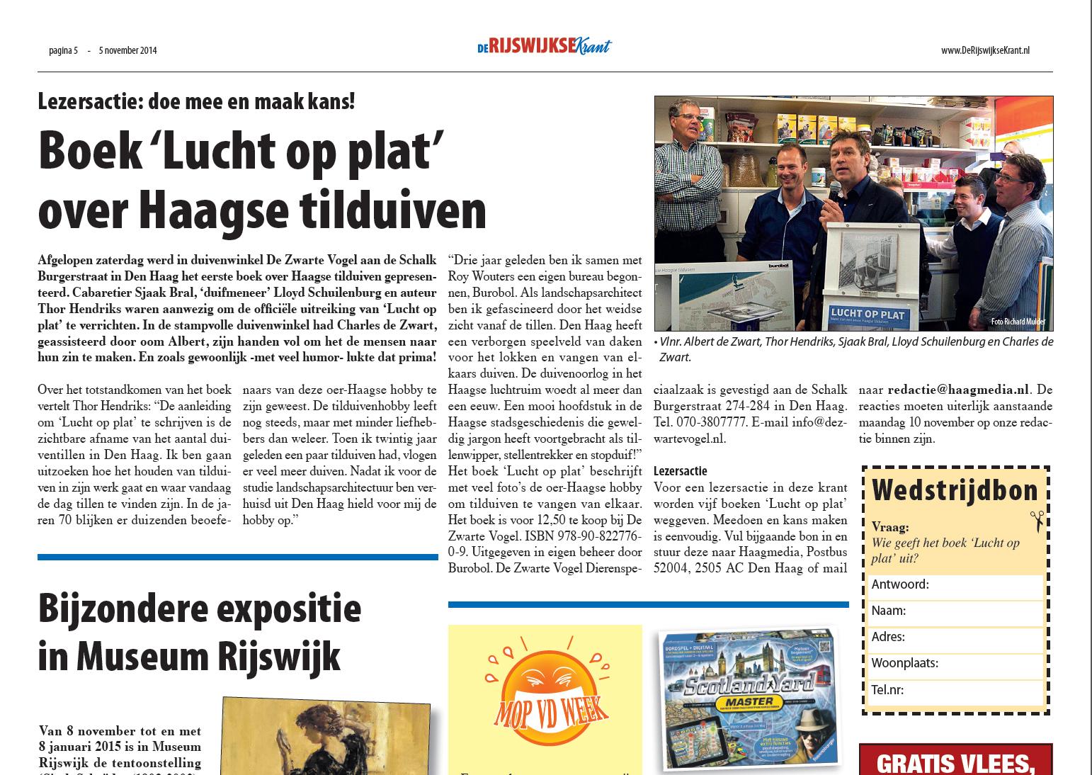 Rijswijkse krant