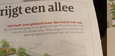 Donderberg Roermond enthousiast ontvangen