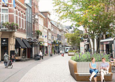 impressie boombanken Hamstraat